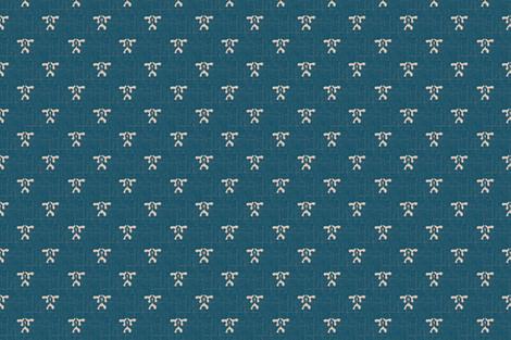 kiri coordinate - teal & white coordinate fabric by materialsgirl on Spoonflower - custom fabric