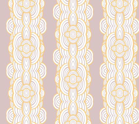 Ripple Stripe fabric by pond_ripple on Spoonflower - custom fabric