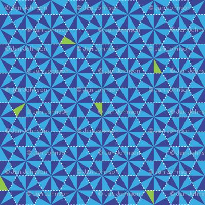 Electric Honeycomb-Bongo Blue