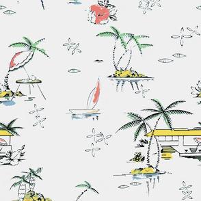 Hawaii in the nifty 50s