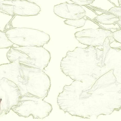 frog, dragonfly & lilypad fabric by awrite on Spoonflower - custom fabric