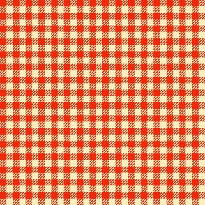 Apple-Red_and_Cream_Quarter-inch Checks