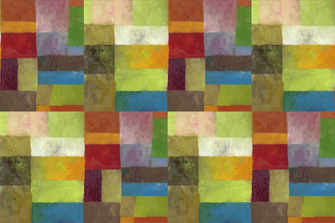 Abstract Color Panels lV fabric by michellecalkins on Spoonflower - custom fabric