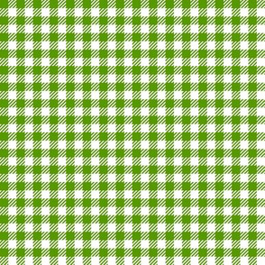 Leaf-Green_and_White_Quarter-inch Checks