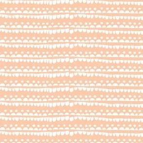 Confetti white stripes