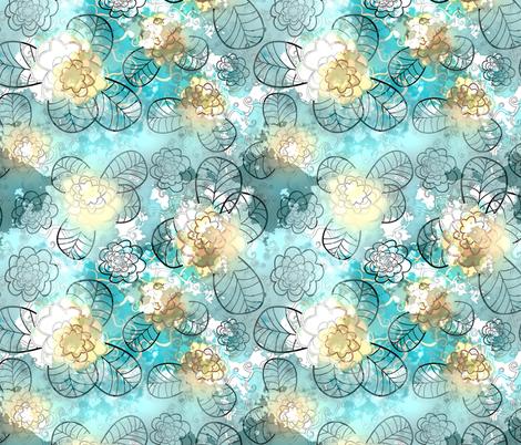 blue 2 fabric by kociara on Spoonflower - custom fabric