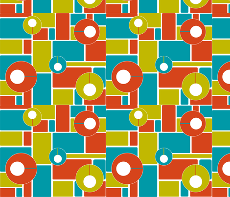 midcentury_modern fabric by vlorimer on Spoonflower - custom fabric