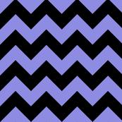 Chevron Purple Black