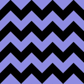 Chevron Purple Black
