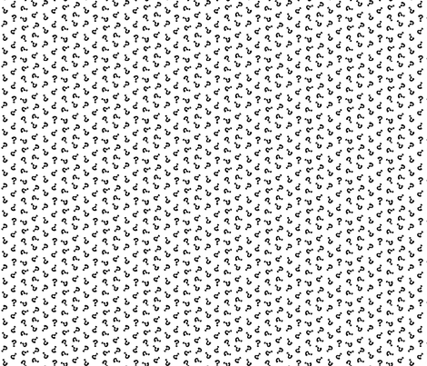 question ditz fabric by darcibeth on Spoonflower - custom fabric