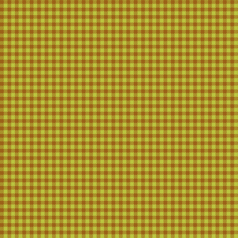 Brown_and_Apple-Green_Eighth-inch Checks fabric by fireflower on Spoonflower - custom fabric