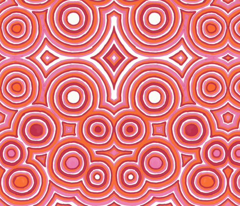 Mod Circles fabric by shinyjill on Spoonflower - custom fabric