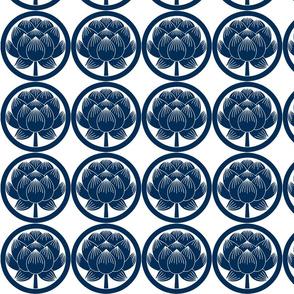 Shinzo Lily blue