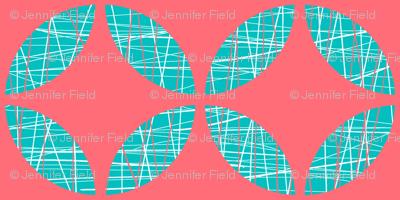 Textured Geometric Leaf