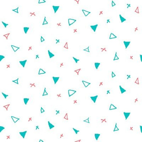 Ditsy Triangles
