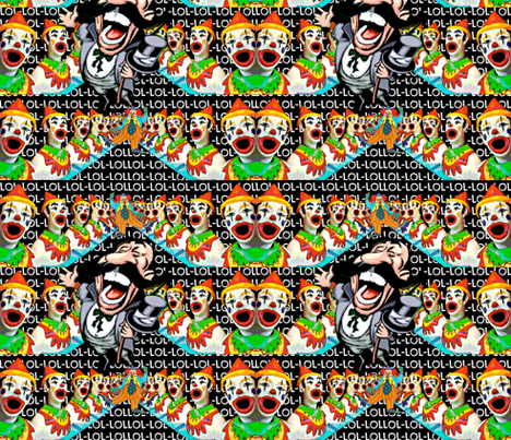 lololol! fabric by whimzwhirled on Spoonflower - custom fabric