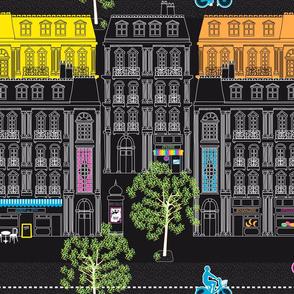 Boulevard Haussmann Fluo&Black