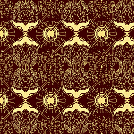 Chocolate with Vanilla Filling fabric by edsel2084 on Spoonflower - custom fabric