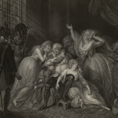 The Final Interview of Louis XVI with his Family