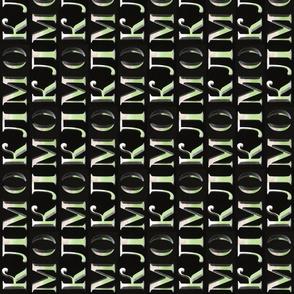 Letters Sideways