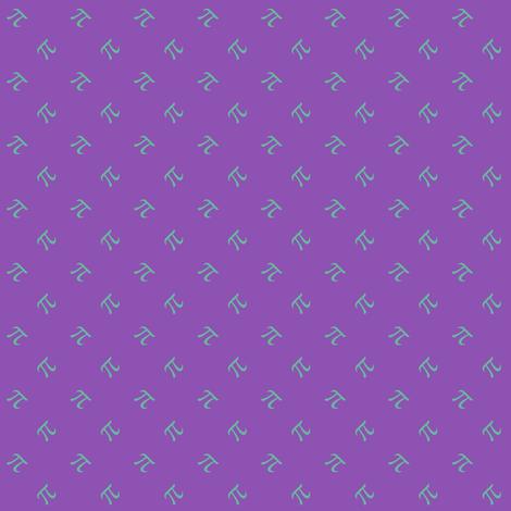 tiny pi diamonds (jazz grape) fabric by weavingmajor on Spoonflower - custom fabric