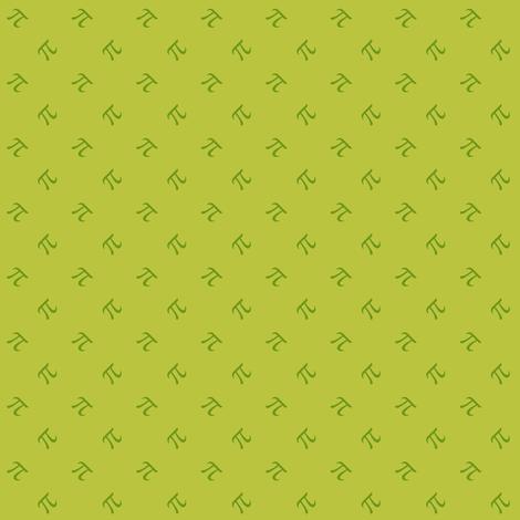 apple pi - granny smith fabric by weavingmajor on Spoonflower - custom fabric