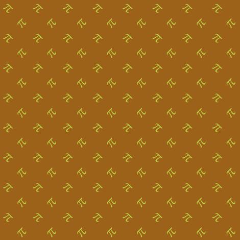 caramel apple pi fabric by weavingmajor on Spoonflower - custom fabric