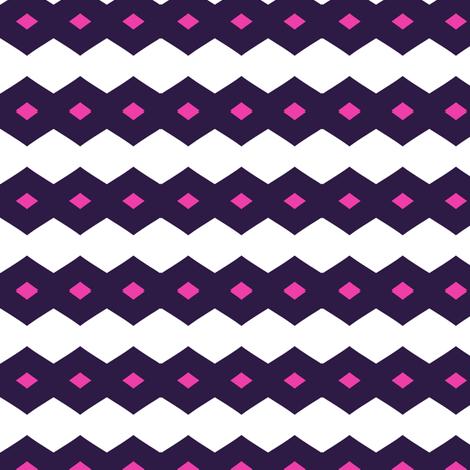 Diamond Drops - Retro Punky!- Just Like The 60's  - © PinkSodaPop 4ComputerHeaven.com fabric by pinksodapop on Spoonflower - custom fabric