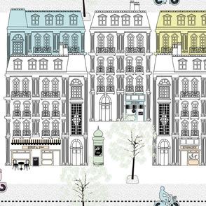 Boulevard Haussmann Pastel