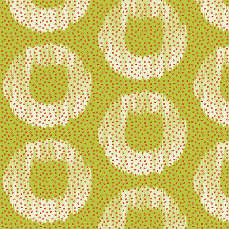APPLE RINGS fabric by glimmericks on Spoonflower - custom fabric