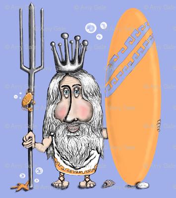 Poseidon's Sweet New Ride, Dude! large scale