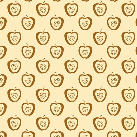 tiny apples Cb fabric by glimmericks on Spoonflower - custom fabric
