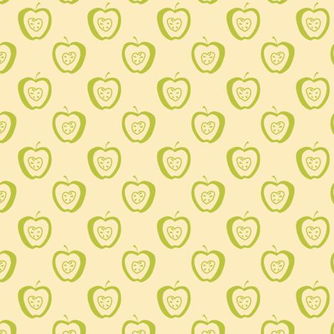 tiny apples CG Synergy0002 fabric by glimmericks on Spoonflower - custom fabric