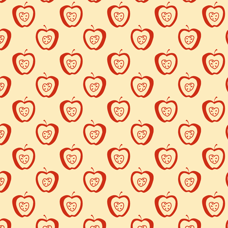 tiny apples CR synergy0002 fabric by glimmericks on Spoonflower - custom fabric