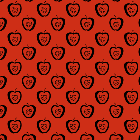 tiny apples RK fabric by glimmericks on Spoonflower - custom fabric