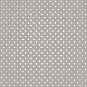 Swiss Dots Gray