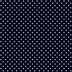 Swiss Dots Black