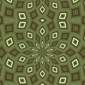 Kaleidescope 0952 foil olive