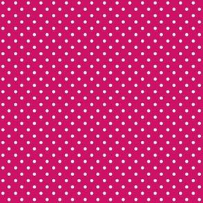Swiss Dots Fuschia