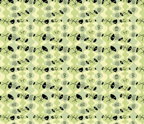 Modern_zigzag_lt_green_black_shop_preview