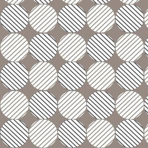 Lines and Circles (Grey)