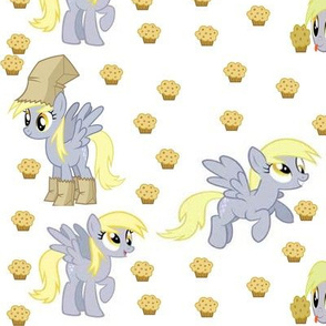 My Little Pony Derpy Fabric