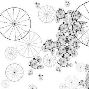 Pinwheel Lace (B&W)