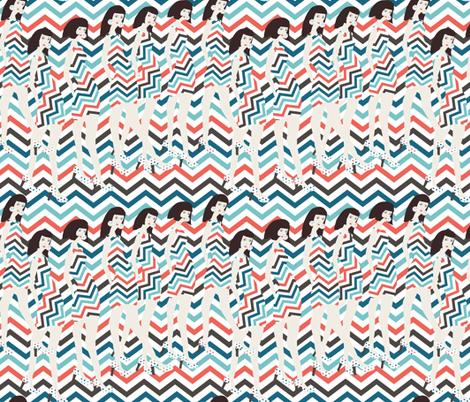 fashion show  fabric by kociara on Spoonflower - custom fabric