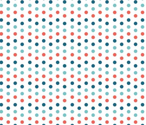 polka dots fabric by kociara on Spoonflower - custom fabric