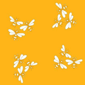 Flower Bees, Sunflower Gold