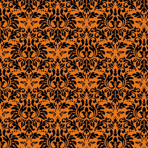 Halloween_Tiger_Damask