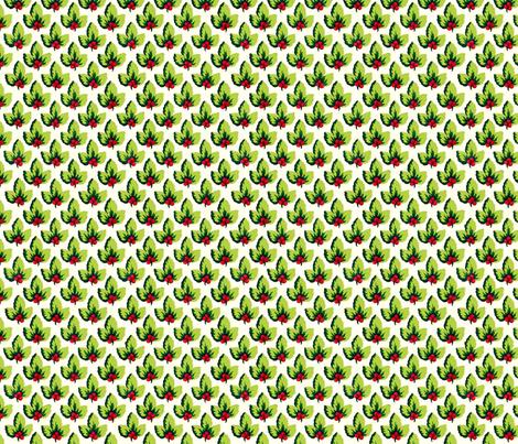 Pear_Berry_Leaf fabric by kelly_a on Spoonflower - custom fabric