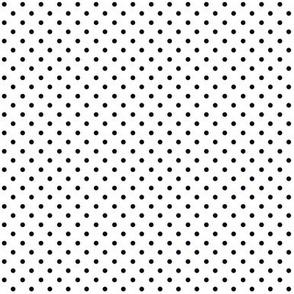 Swiss Dots Black Reverse
