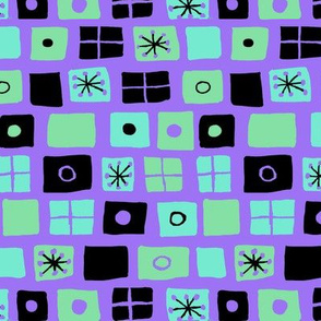 Modern Flags Purple